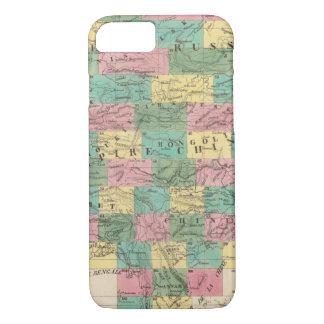 Assembly Map of Asia iPhone 7 Case