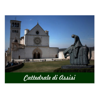 Assisi Cathedral (Italian: Cattedrale di Assisi Postcard