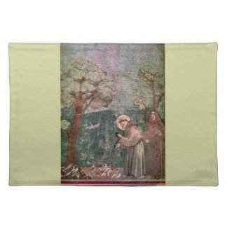 Assisi, St Francis and the birds Placemats