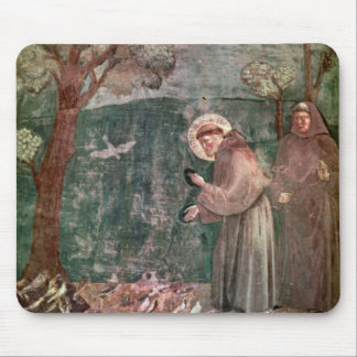 Assisi, St Francis and the birds Mouse Pad