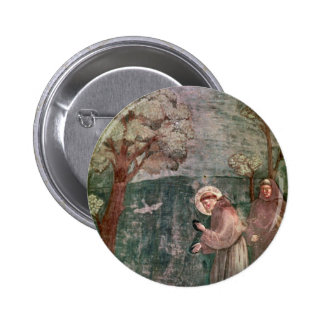 Assisi St Francis and the birds Pin