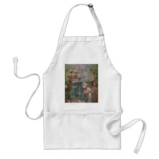 Assisi, St Francis and the birds Standard Apron