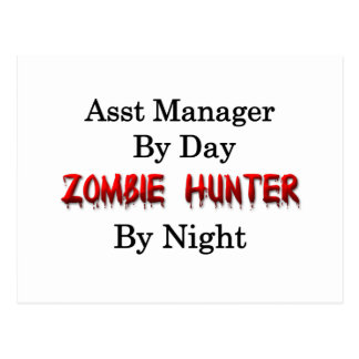 Assist Manager/Zombie Hunter Postcard
