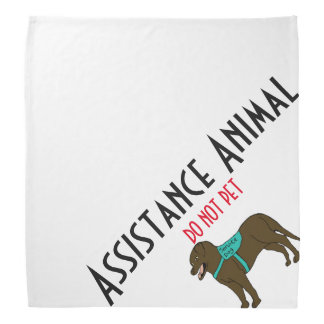 Assistance Animal- DO NOT PET Bandana