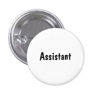 Assistant Pinback Button