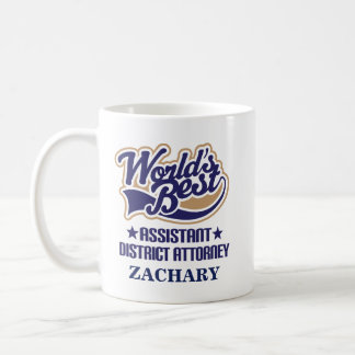 Assistant District Attorney Personalized Mug Gift