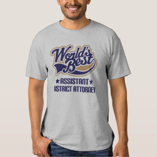 Assistant District Attorney T-shirt Tee