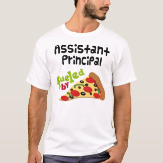 Assistant Principal (Funny) Pizza T-Shirt