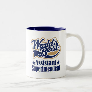 Assistant Superintendent Gift For Two-Tone Coffee Mug
