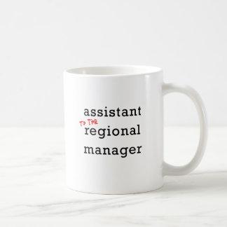 Assistant (to the) Regional Manager Basic White Mug