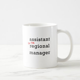 Assistant to the Regional Manager Coffee Mug