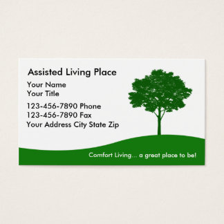 Assisted Living Business Card