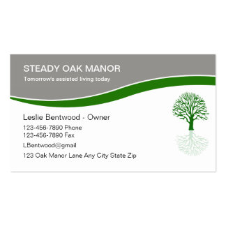Assisted Living Business Cards