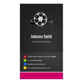 Associate Producer - Premium Creative Innovative Pack Of Standard Business Cards
