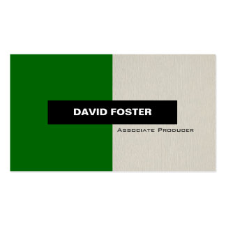 Associate Producer - Simple Elegant Stylish Pack Of Standard Business Cards