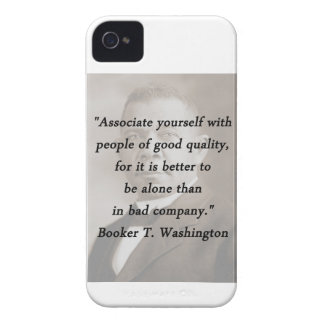 Associate Yourself - Booker T Washington iPhone 4 Case-Mate Cases