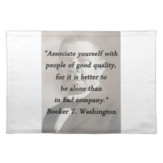 Associate Yourself - Booker T Washington Placemat