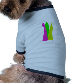 Assorted Abstracts Dog T-shirt