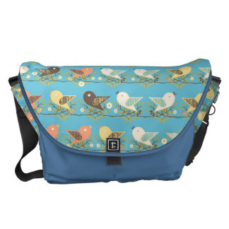 Assorted birds pattern commuter bags