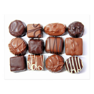 Assorted Chocolates Postcard