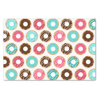 Assorted Donuts Pattern Tissue Paper