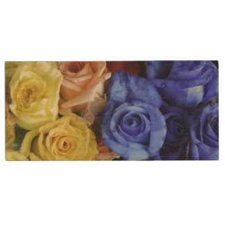 Assorted fresh rose bouquets
