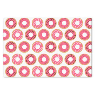 Assorted Pink Donuts Pattern Tissue Paper
