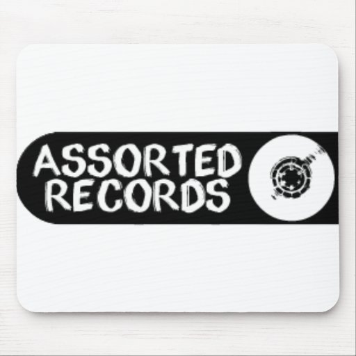 Assorted Records Mousepad