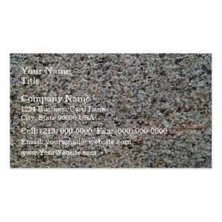 Assorted Rocky Surface Texture Business Card