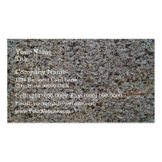 Assorted Rocky Surface Texture Business Card Template