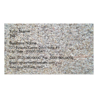 Assorted Rocky Surface Texture Pack Of Standard Business Cards