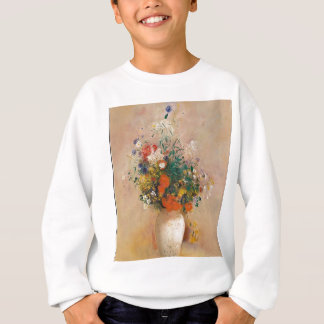 Assortion of Flowers in Vase Sweatshirt