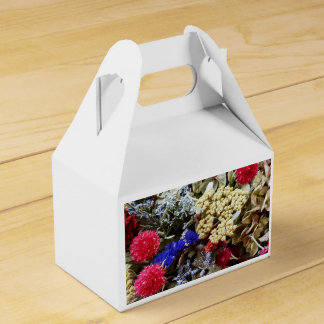 Assortment Of Dried Flowers Favour Box