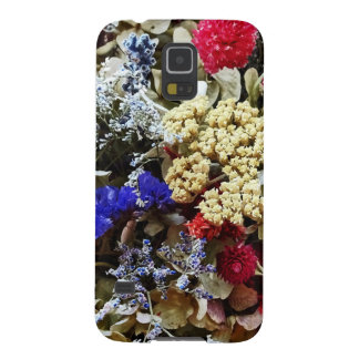 Assortment Of Dried Flowers Galaxy S5 Cover