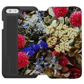 Assortment Of Dried Flowers Incipio Watson™ iPhone 6 Wallet Case
