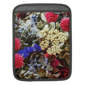 Assortment Of Dried Flowers iPad Sleeves