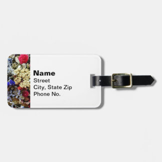 Assortment Of Dried Flowers Luggage Tag