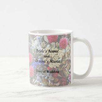 Assortment Of Dried Flowers Wedding Supplies Coffee Mug