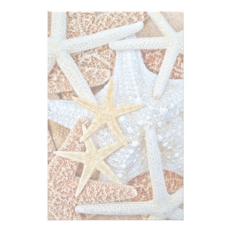 Assortment of Starfish Stationery Paper