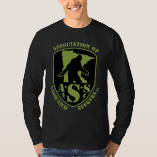 Asssociation of Sasquatch Seekers Long Sleeve Tshirt