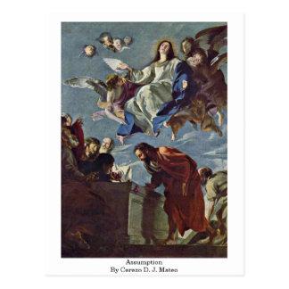 Assumption By Cerezo D. J. Mateo Postcard