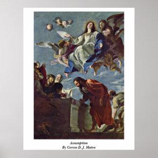 Assumption By Cerezo D. J. Mateo Print