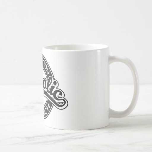 Assumption Catholic Church Black Coffee Mugs