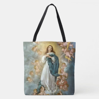 Assumption of Mary into Heaven Tote Bag