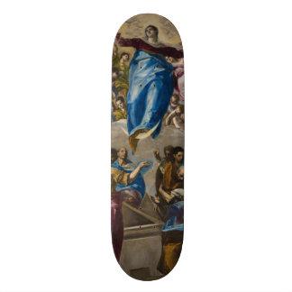 Assumption of the Virgin by El Greco Skate Board Decks