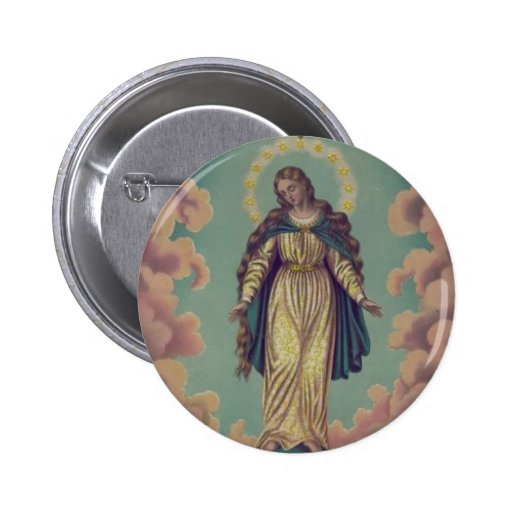 Assumption of the Virgin Mary Buttons