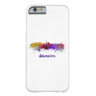 Assumption skyline in watercolor barely there iPhone 6 case