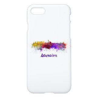 Assumption skyline in watercolor iPhone 8/7 case