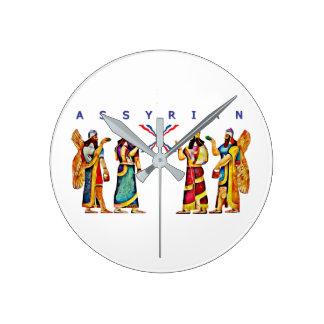 Assyrian Annunaki Wall Clock