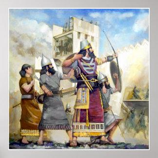 Assyrian King Poster